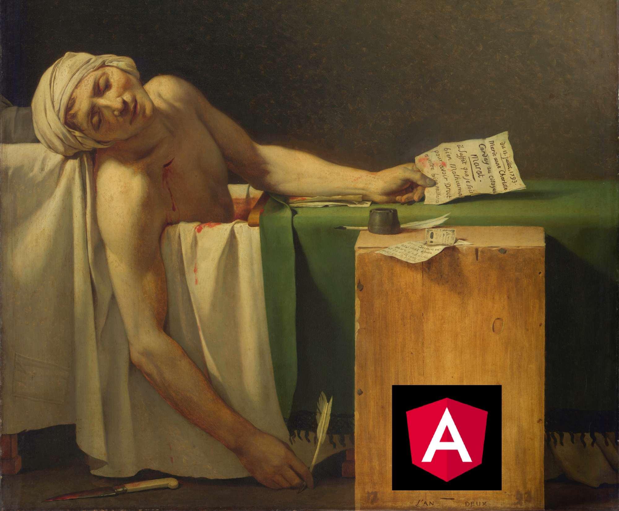 śmierć angulara